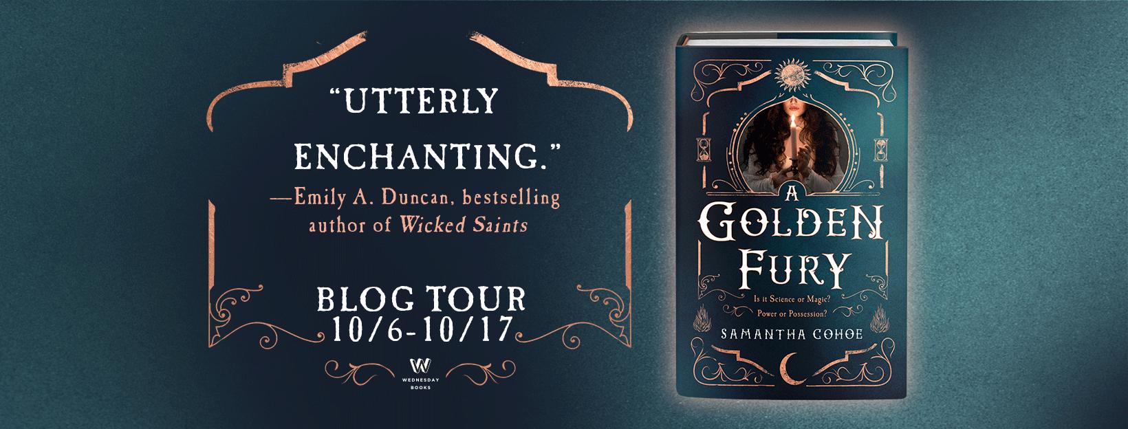A Golden Fury_Blog Tour Banner